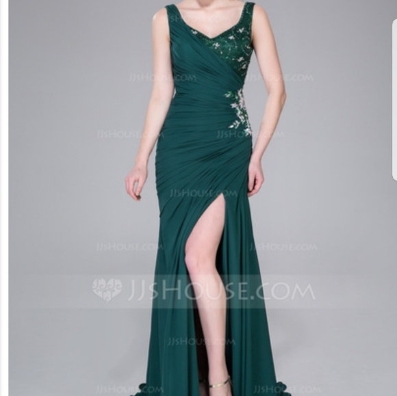 Jjs House Dresses Emerald Formal Gown Poshmark